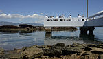Ashes of Pearl Harbor survivor scattered at USS Utah Memorial 150702-N-GI544-149.jpg