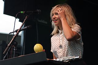 Ashleigh Ball Canadian voice actress, the lead singer in indie-band Hey Ocean!