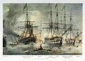 Asia and other vessels at the Battle of Navarino, 20 Oct 1827 PW4851.jpg