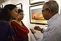 Asit Kumar Roy Explains His Creations - Group Exhibition - PAD - Kolkata 2016-07-29 5196.JPG