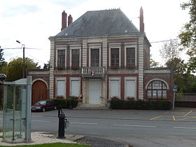 Mairie d'Athies.