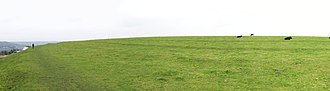 Solsbury Hill - Panoramic view on top of the hill