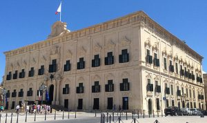 Langue (Knights Hospitaller) - Auberge de Castille in Valletta