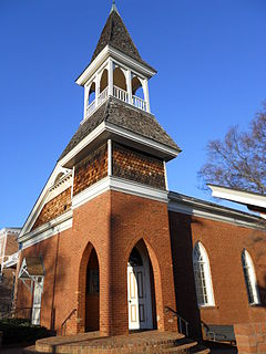 Auburn University Chapel United States historic place