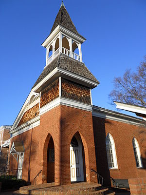 National Register of Historic Places listings in Lee County, Alabama - Image: Auburn University Chapel