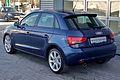 Audi A1 Sportback Ambition 1.6 TDI Scubablau Heck.JPG