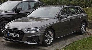 Audi A4 German compact executive car model