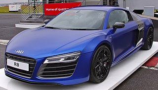 First generation of the R8 sports car manufactured by German automobile manufacturer Audi from 2006–2015