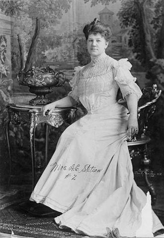 Augusta Emma Stetson - Augusta E. Stetson, c1905