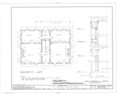 Augustus Poujoud House, 105-107 Saint George Street, Saint Augustine, St. Johns County, FL HABS FLA,55-SAUG,4- (sheet 2 of 4).png