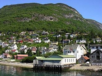 Aurlandsvangen - View of Aurlandsvangen
