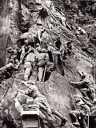 Johann Mickl - Image: Austro Hungarian mountain corps