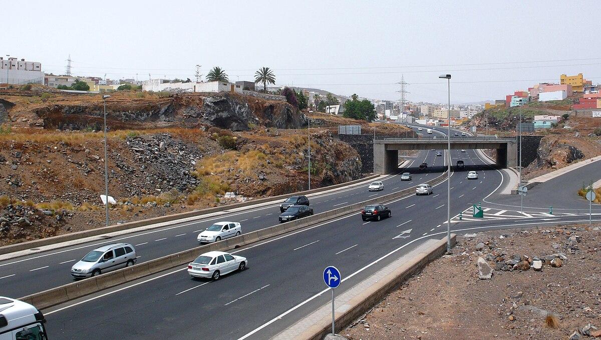 Resultado de imagen de carretera tenerife autopista