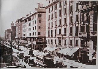 Córdoba, Argentina - Olmos Avenue (1943).