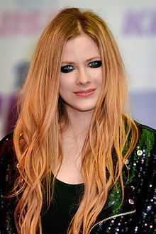 Avril Lavigne - the beautiful, enigmatic, kind,  musician  with German, French, Canadian, Scottish, English,  roots in 2019