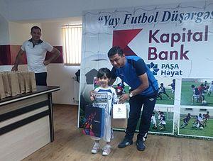 Sumgayit FK - Image: Ayan Paşazadə Yay Futbol Düşərgəsində