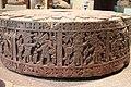Aztec Stone Cuauhxicalli of Moctezuma I Depicting 11 Conquest Scenes.jpg