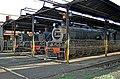 B. Steam Class 24 3688, Class 16DA 876 and Class 24 3631 at Bloemfontein depot. 27.12 2011..jpg