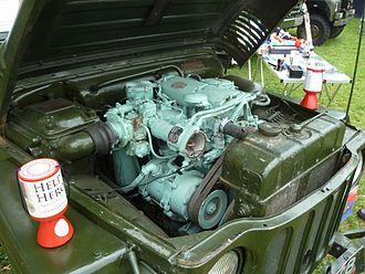 Rolls-Royce B range engines - Austin Champ B40 engine