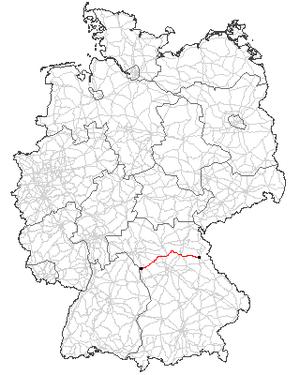 Verlauf der B 470
