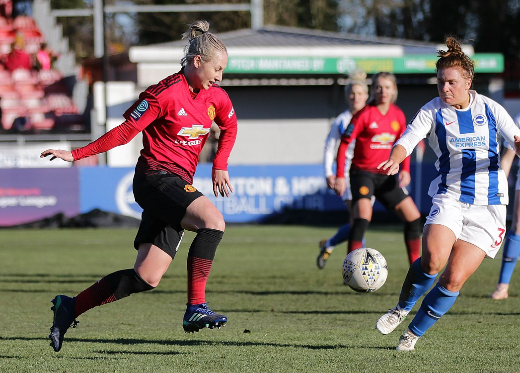 BHA Women 0 Man Utd Women 2 WFAC 4th rd 03 02 2019-1499 (46934353872).jpg