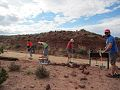 BLM Moab Field Office hosted volunteers to help stabilize the Willow Springs Dinosaur Tracksite (15220969928).jpg