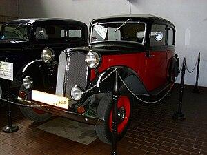 BMW 303 - 1934 BMW 309