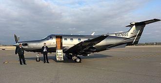 Eastern Oregon Regional Airport - Pilatus PC-12 of Boutique Air