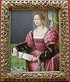 Bacchiacca, donna con un libro musicale, 1540-45 ca..JPG
