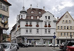 Brunnenstraße in Stuttgart