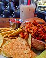 Bad Waitress Vegan Sloppy Joe (23526271476).jpg