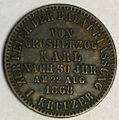 Baden commemorative kreuzer 1868 reverse.jpg