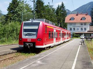 Ammergau Railway railway line