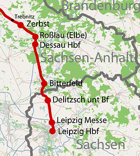 Trebnitz–Leipzig railway