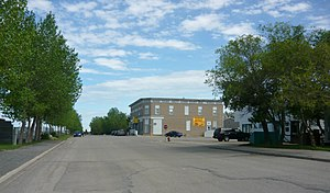 Balgonie - Intersection of Main and Railway Streets