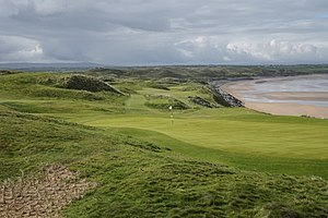 Ballybunion Golf Club - 10th hole of the Old Course