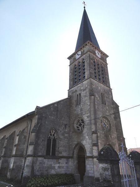 Bannoncourt (Meuse) église