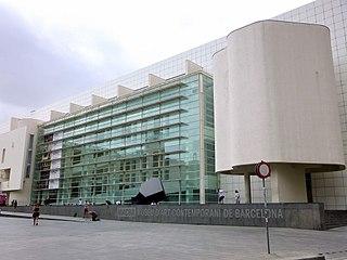 Art museum in El Raval, Barcelona