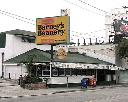 How to get to Barney's Beanery with public transit - About the place