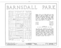Barnsdall Park, 4800 Hollywood Boulevard, Los Angeles, Los Angeles County, CA HABS CAL,19-LOSAN,55- (sheet 1 of 5).png