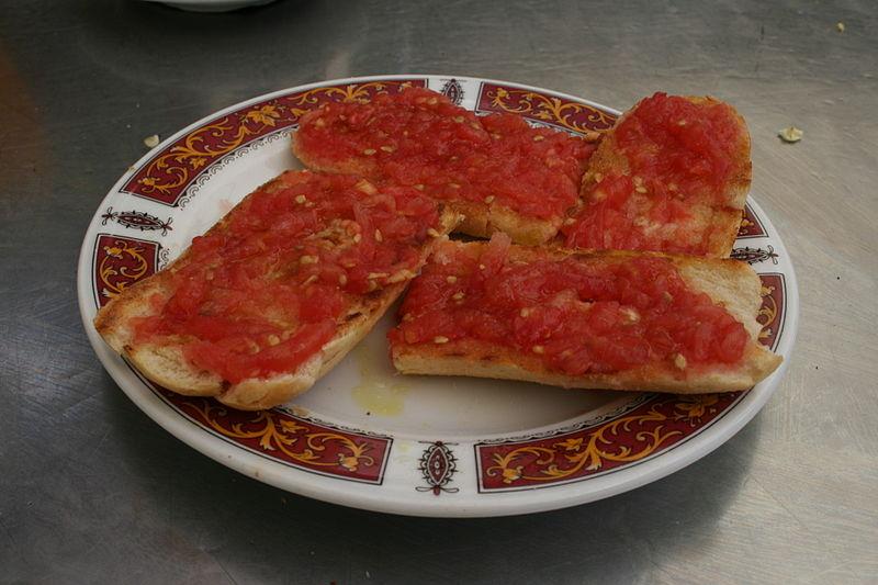 Comida típica de Barcelona