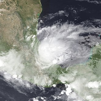 2013 Atlantic hurricane season - Image: Barry 2013 06 20 0800Z