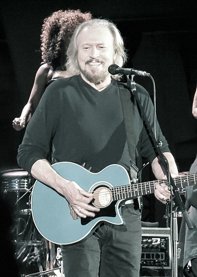 Picture of a band or musician: Barry Gibb