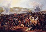 Batalha de Maipú, em 5 de abril de 1818.