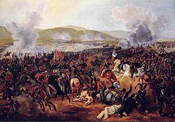 Batalla de Maipú, el 5 de abril de 1818.