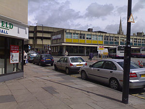 Bath bus station - The old Bath Bus Station in 2006