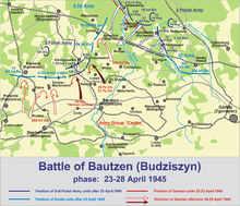 Map of the Battle of Bautzen (2)