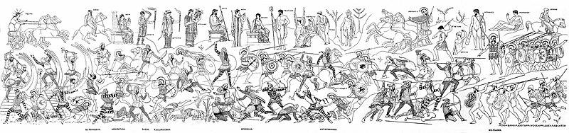 File:Battle of Marathon in the Stoa Poikile (reconstitution).jpg