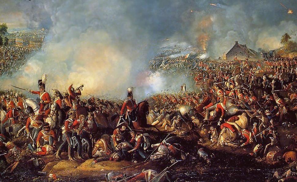 Battle of Waterloo 1815 (cropped)