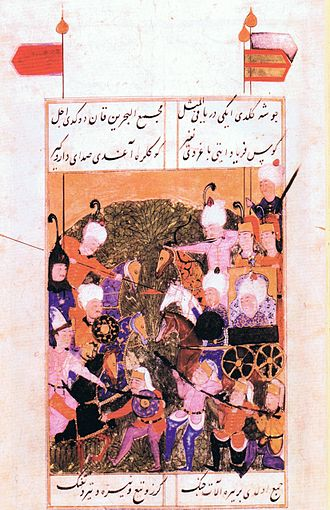 Bayezid II - Bayezid II fighting his son Selim I at Uğraşdere.